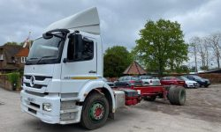 MERCEDES AXOR 1824 CHASSIS CAB,MANUAL GEARBOX